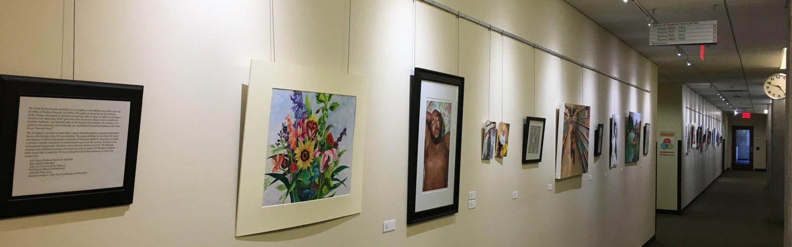 Wally Douma Student Art Gallery